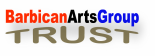 Barbican arts group trust logo